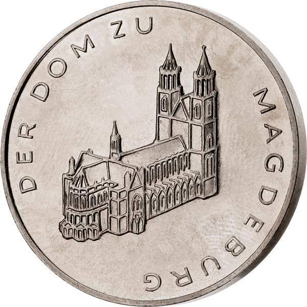 DDR Gedenkprägung Dom zu Magdeburg