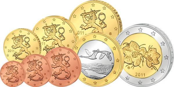 Euro-Kursmünzensatz Finnland