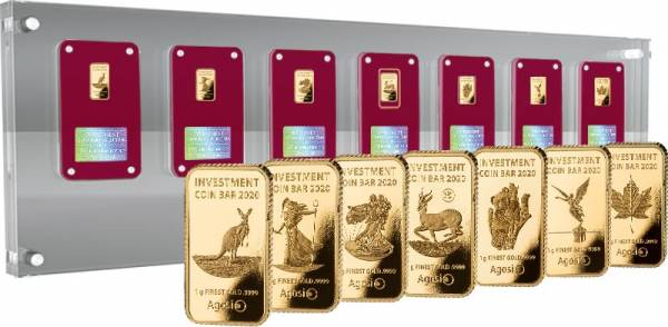 Investment Coin Bar Collection Tribute Edition 2020