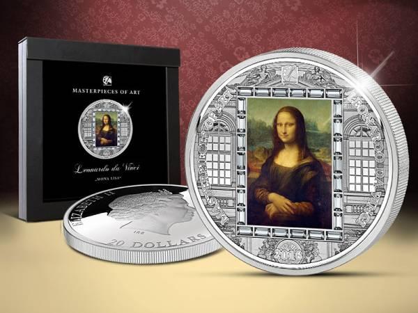 20 Dollars Cook-Inseln Leonardo da Vinci Mona Lisa