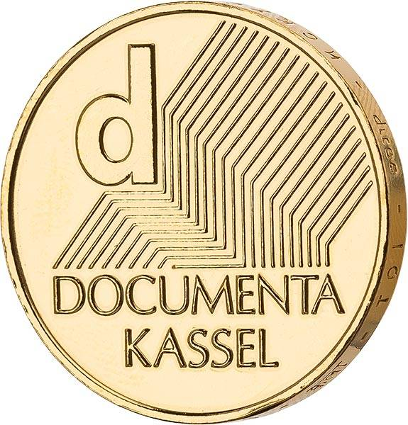 10 Euro BRD Documenta Kassel 2002