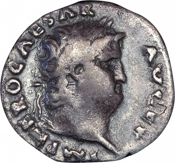 Denar Rom Kaiser Nero
