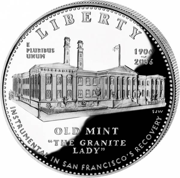 1 Dollar USA San Francisco Old Mint 2006