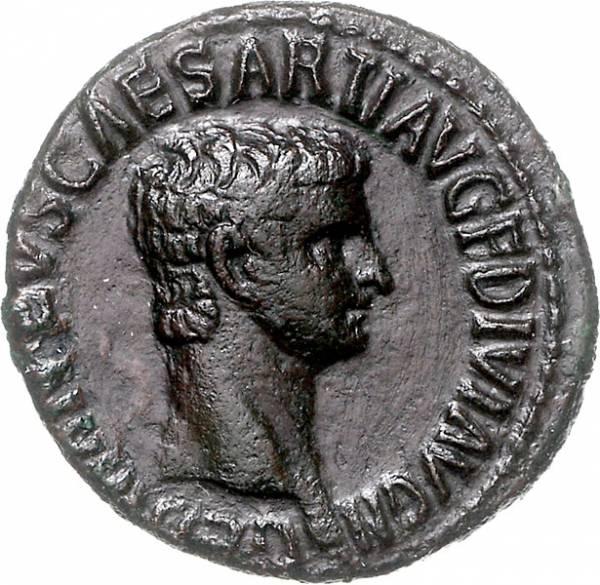 Prinz Germanicus 15. v. - 19 n.C Römische Kaiserzeit vorzüglich
