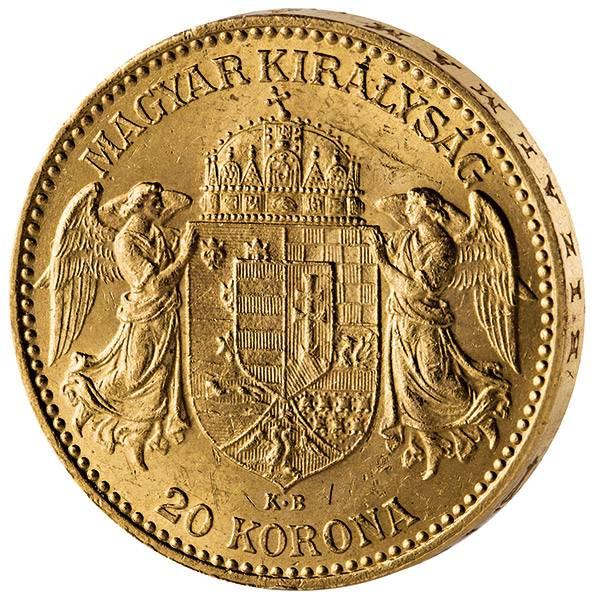 20 Kronen Ungarn Franz Joseph I. 1892-1916