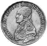 Taler Ausbeutekonventionstaler Friedrich August I. 1817-1821 ss-vz