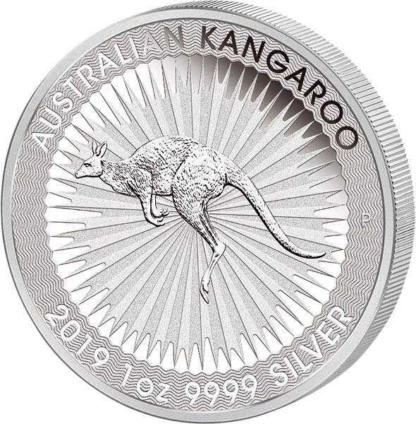 1 Unze Silber Australien Känguru 2019