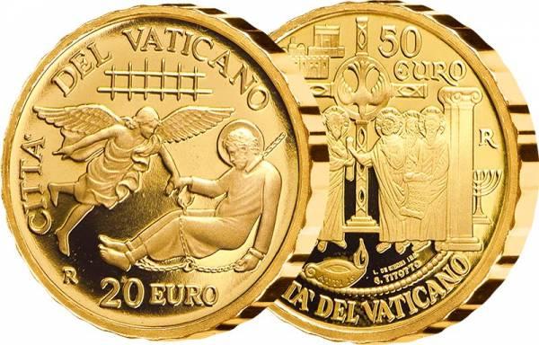 20 + 50 Euro Vatikan Apostelgeschichte Die ersten Missionen und Die Versammlung von Jerusalem 2019