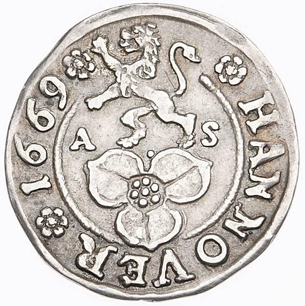 4 Mariengroschen Stadt Hannover 1668-1689