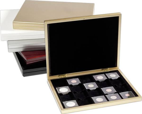 für 20 Kapseln Münzkassette PIANO gold-metallic