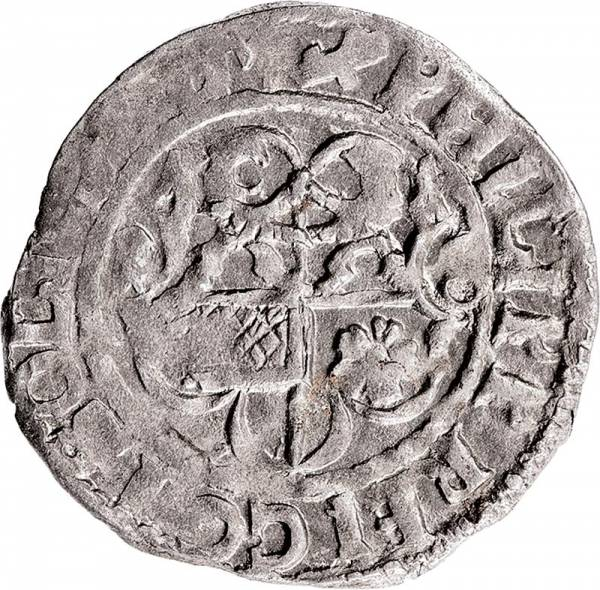 Kipper-Groschen Solms-Hohensolms Graf Philipp Reinhard I. 1619-1622