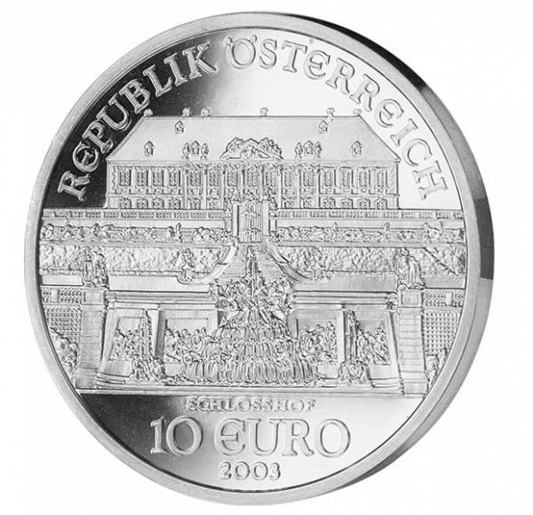 10 Euro Österreich Schloss Hof 2003