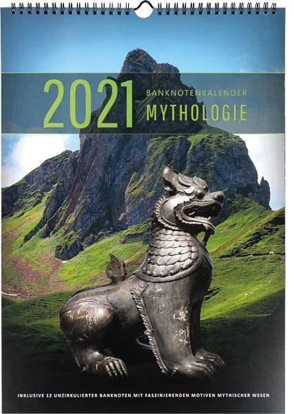 Banknoten-Kalender Mystische Kreaturen  2021