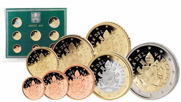 Euro-Kursmünzensatz Vatikan 2018