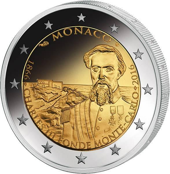 2 Euro Monaco 150 Jahre Monte-Carlo