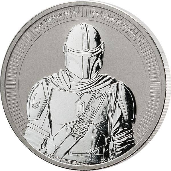 1 Unze Silber Niue Star Wars - The Mandalorian 2021