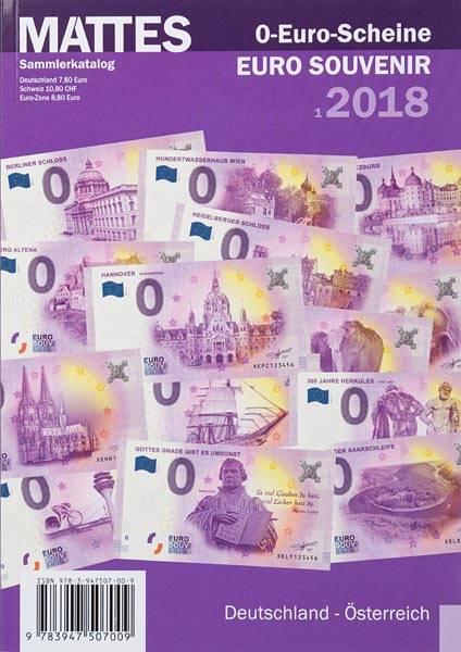 MATTES-Katalog für 0-Euro-Scheine 2018
