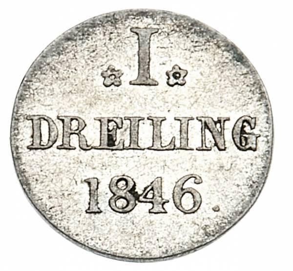 1 Dreiling Freie und Hansestadt Hamburg 1800-1851