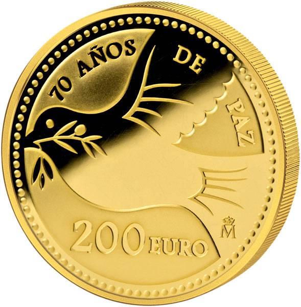 200 Euro Spanien 70 Jahre Frieden in Europa 2015