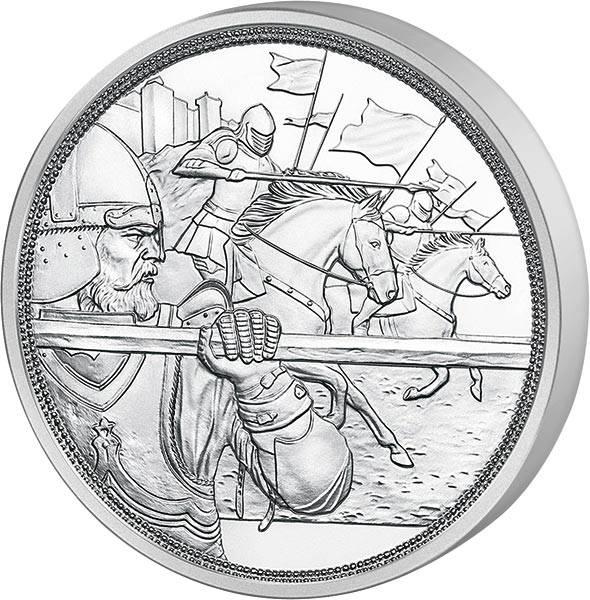10 Euro Österreich Mit Kettenhemd und Schwert Tapferkeit 2020