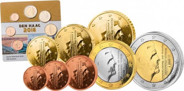 Euro-Kursmünzensatz Niederlande Den Haag 2018
