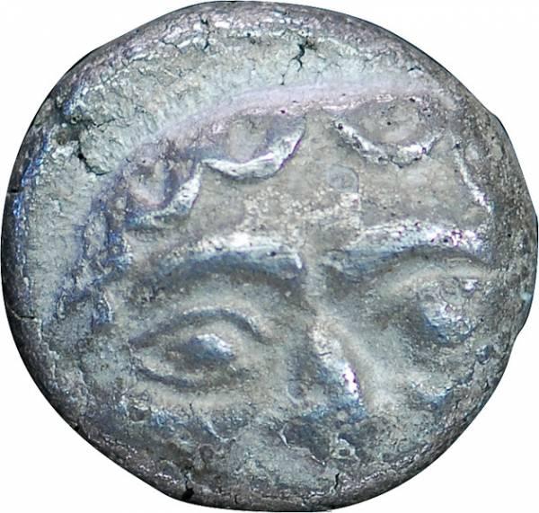 4 Obole Tetrobol Mysien Parion 5 Jh. v. Chr. sehr schön
