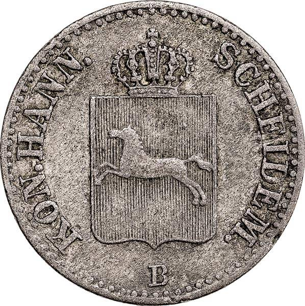 6 Pfennig Hannover König Ernst August 1843-1846