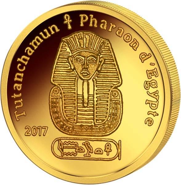 100 Francs CFA Elfenbeinküste Tutanchamun 2017