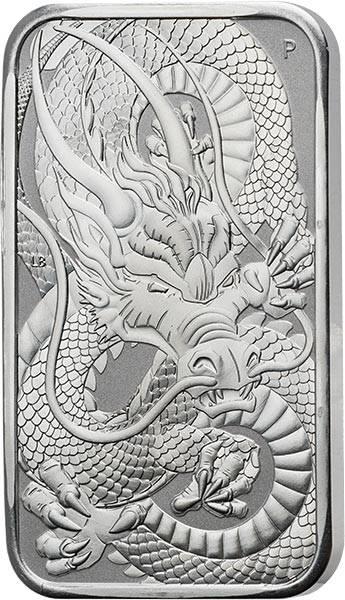 1 Unze Silber Australien Chinesischer Drache 2021