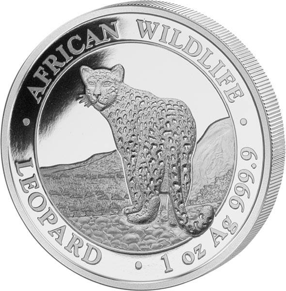 100 Shillings Somalia African Wildlife Leopard 2018