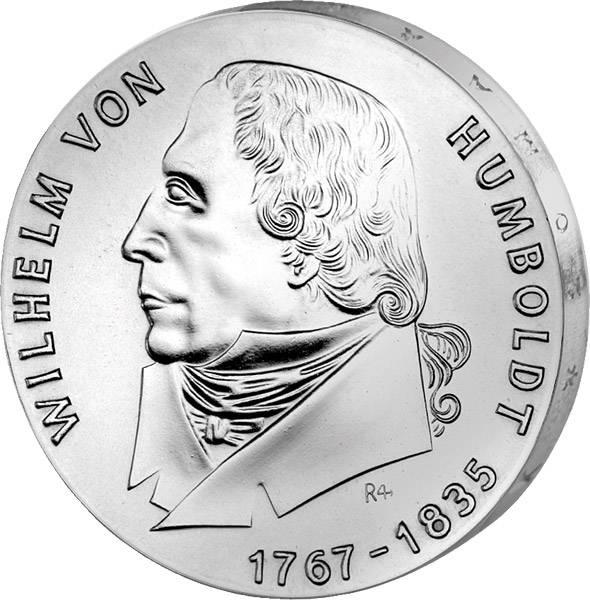 20 Mark  Wilhelm von Humboldt 1967 A vorzüglich