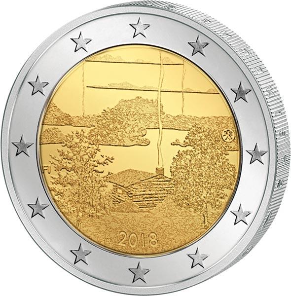 2 Euro Münzen Finnland Kaufen 2 Finnland Reppade