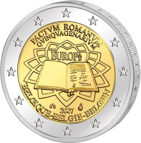 2 Euro Römische Verträge Gemeinschaftsausgabe aller Länder 2007