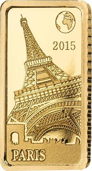10 Dollars Salomonen Paris Eiffelturm 2015