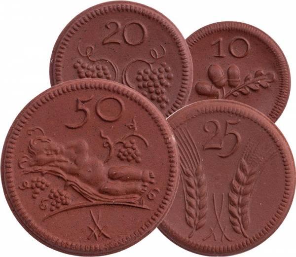 10 - 50 Pfennige Münsterberg Schlesien 1921