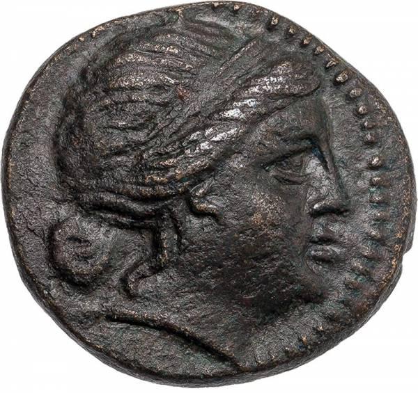Mittelbronze Thrakien/Mesembria Athena Alkidemos 250 - 175