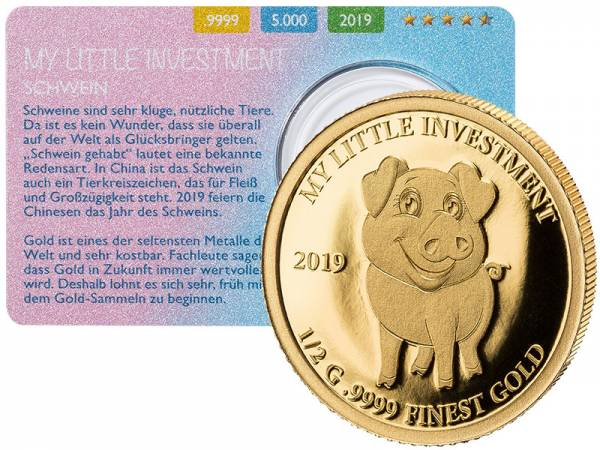 10 Dollars Salomonen My Little Investment Schwein 2019
