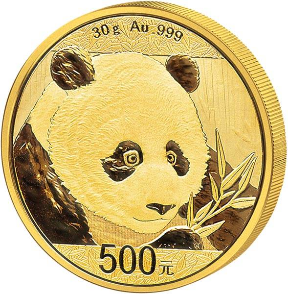 500 Yuan China Panda 2018