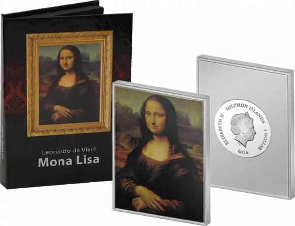 1 Dollar Salomonen Leonardo da Vinci Mona Lisa 2014