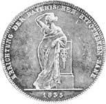 Geschichtstaler Ludwig I. Hypobank 1835 vorzüglich