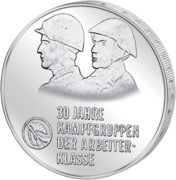 10 Mark DDR 30 Jahre Kampfgruppen