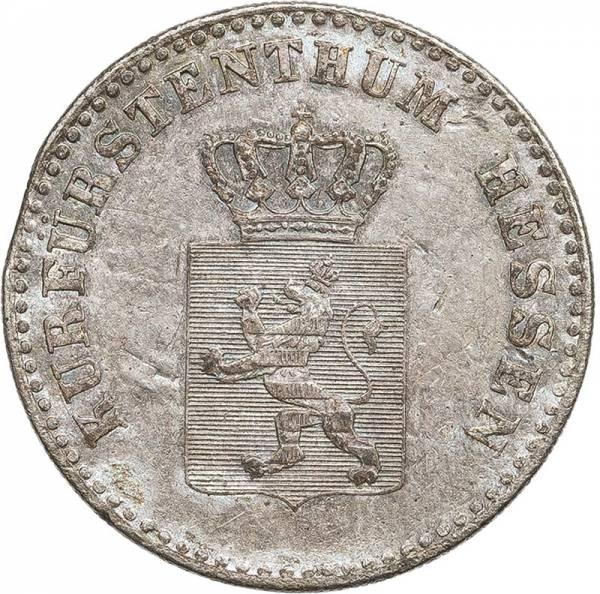 2 Groschen Hessen-Kassel Kurfürst Wilhelm II. und Freidrich Wilhelm 1842