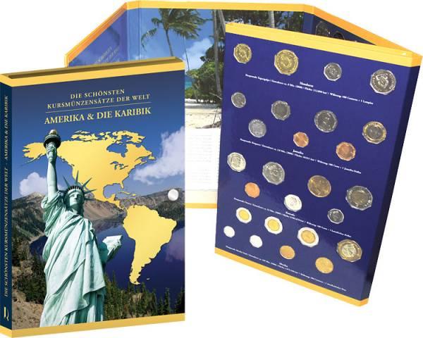 14 Kursmünzensätze inklusive 2 Faltalben prägefrisch