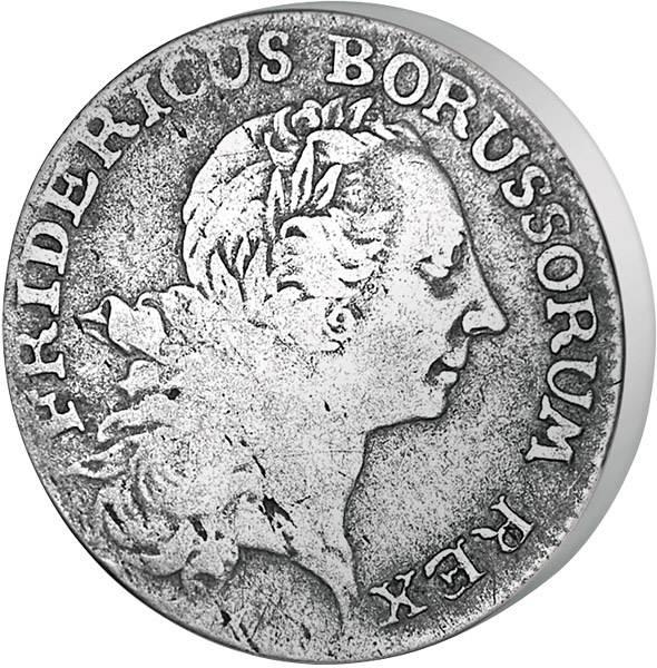 1/12 Taler Preußen Friedrich der Große