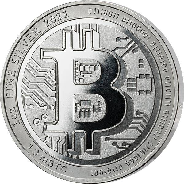 2 Dollars Niue Bitcoin 2021