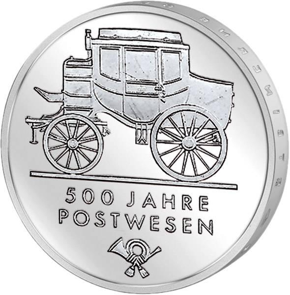 5 Mark 500 Jahre Postwesen