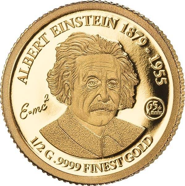 10 Dollars Barbados 65. Todestag von Albert Einstein 2020