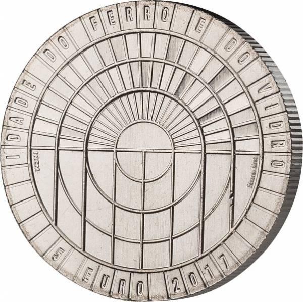 5 Euro Portugal Glas- und Eisenzeitalter 2017