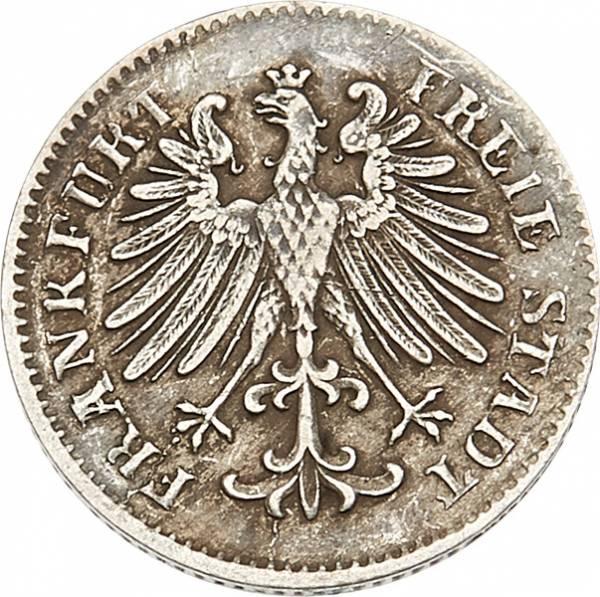 3 Kreuzer Freie Reichsstadt Frankfurt 1846-1856