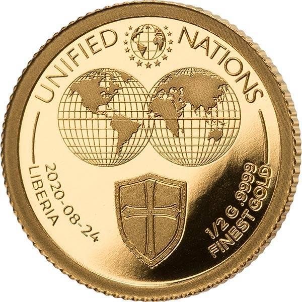 25 Dollars Liberia Schutzschild 2020